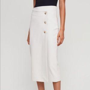 Aritzia Babaton Buttoned-Up Skirt 6